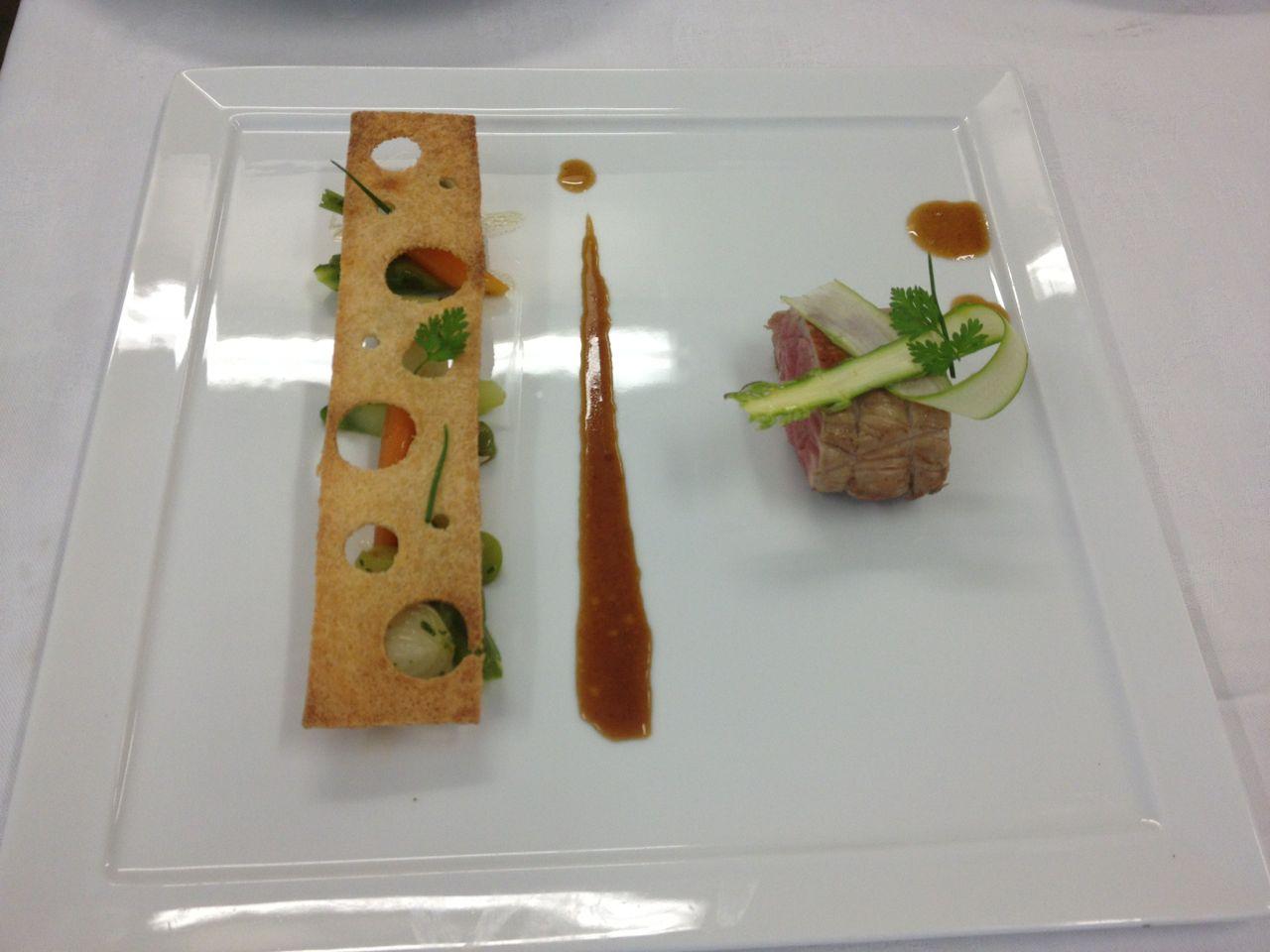 H tellerie restauration fiches techniques m daillon de for Decoration de plat avec des legumes